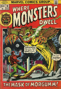 Cover Thumbnail for Where Monsters Dwell (Marvel, 1970 series) #18