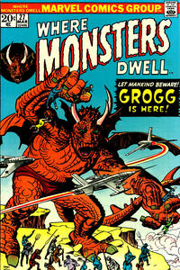 Cover Thumbnail for Where Monsters Dwell (Marvel, 1970 series) #27