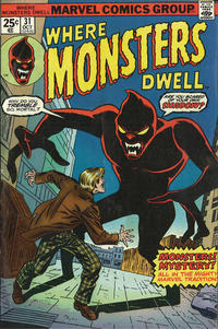 Cover Thumbnail for Where Monsters Dwell (Marvel, 1970 series) #31