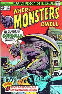 Cover Thumbnail for Where Monsters Dwell (Marvel, 1970 series) #35