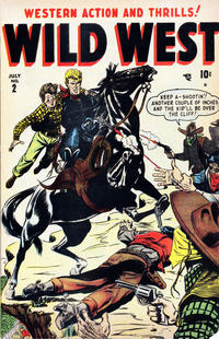 Cover Thumbnail for Wild West (Marvel, 1948 series) #2