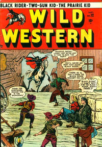 Cover Thumbnail for Wild Western (Marvel, 1948 series) #12