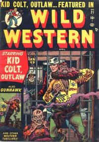 Cover Thumbnail for Wild Western (Marvel, 1948 series) #21