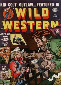 Cover Thumbnail for Wild Western (Marvel, 1948 series) #25