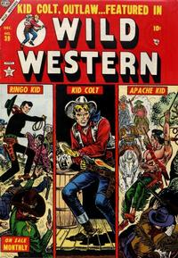Cover Thumbnail for Wild Western (Marvel, 1948 series) #39