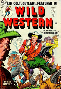 Cover Thumbnail for Wild Western (Marvel, 1948 series) #40