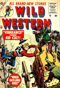 Cover for Wild Western (Marvel, 1948 series) #46