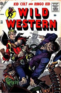 Cover Thumbnail for Wild Western (Marvel, 1948 series) #54