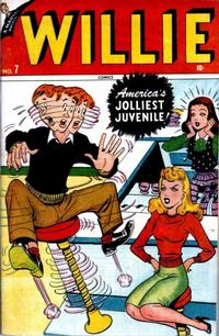 Cover Thumbnail for Willie Comics (Marvel, 1946 series) #7