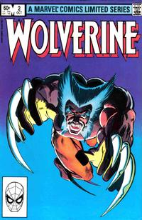 Cover Thumbnail for Wolverine (Marvel, 1982 series) #2 [Direct]