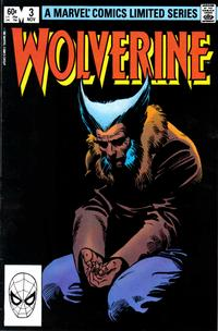 Cover Thumbnail for Wolverine (Marvel, 1982 series) #3 [Direct]