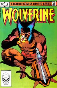 Cover Thumbnail for Wolverine (Marvel, 1982 series) #4