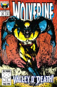 Cover for Wolverine (Marvel, 1988 series) #67 [Direct Edition]