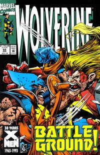 Cover for Wolverine (Marvel, 1988 series) #68 [Direct]