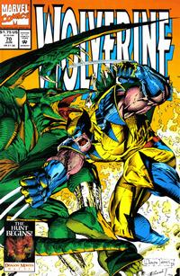 Cover Thumbnail for Wolverine (Marvel, 1988 series) #70 [Direct Edition]