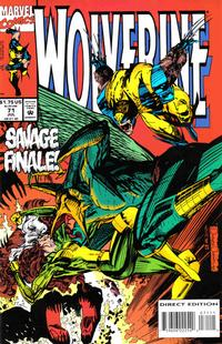 Cover Thumbnail for Wolverine (Marvel, 1988 series) #71 [Direct Edition]