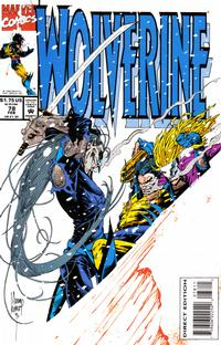 Cover Thumbnail for Wolverine (Marvel, 1988 series) #78 [Direct Edition]