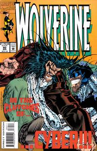 Cover Thumbnail for Wolverine (Marvel, 1988 series) #80 [Direct Edition]