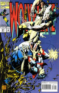 Cover Thumbnail for Wolverine (Marvel, 1988 series) #81 [Direct Edition]