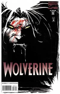 Cover Thumbnail for Wolverine (Marvel, 1988 series) #82 [Direct Edition]