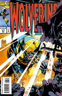 Cover Thumbnail for Wolverine (Marvel, 1988 series) #83 [Direct Edition]