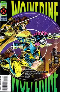 Cover Thumbnail for Wolverine (Marvel, 1988 series) #87 [Deluxe Edition]
