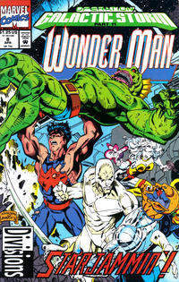 Cover Thumbnail for Wonder Man (Marvel, 1991 series) #8 [Direct]