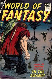 Cover Thumbnail for World of Fantasy (Marvel, 1956 series) #6