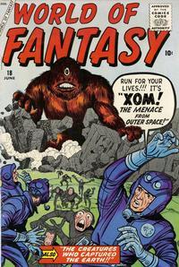 Cover Thumbnail for World of Fantasy (Marvel, 1956 series) #18