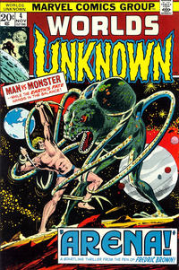 Cover Thumbnail for Worlds Unknown (Marvel, 1973 series) #4