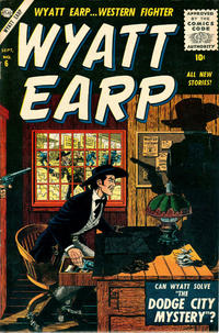 Cover Thumbnail for Wyatt Earp (Marvel, 1955 series) #6