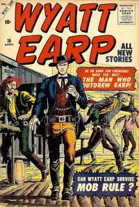 Cover Thumbnail for Wyatt Earp (Marvel, 1955 series) #16