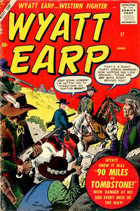 Cover Thumbnail for Wyatt Earp (Marvel, 1955 series) #17