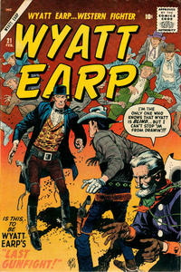 Cover Thumbnail for Wyatt Earp (Marvel, 1955 series) #21