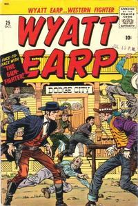 Cover Thumbnail for Wyatt Earp (Marvel, 1955 series) #25