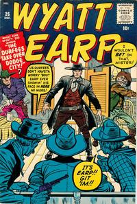 Cover Thumbnail for Wyatt Earp (Marvel, 1955 series) #26