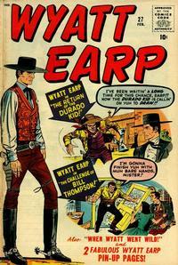 Cover Thumbnail for Wyatt Earp (Marvel, 1955 series) #27