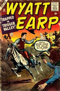 Cover Thumbnail for Wyatt Earp (Marvel, 1955 series) #28
