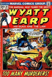 Cover Thumbnail for Wyatt Earp (Marvel, 1972 series) #31