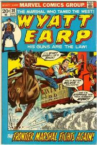 Cover Thumbnail for Wyatt Earp (Marvel, 1972 series) #30