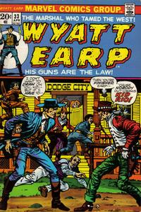 Cover Thumbnail for Wyatt Earp (Marvel, 1972 series) #33