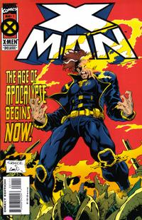 Cover Thumbnail for X-Man (Marvel, 1995 series) #1 [Direct Edition]