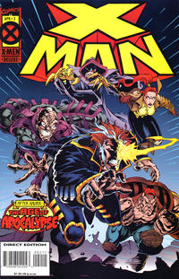 Cover Thumbnail for X-Man (Marvel, 1995 series) #2 [Direct Edition]