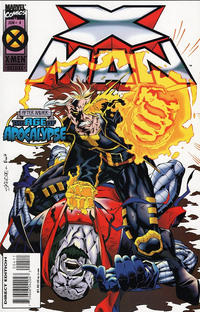 Cover Thumbnail for X-Man (Marvel, 1995 series) #4 [Direct Edition]
