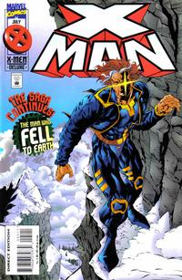 Cover Thumbnail for X-Man (Marvel, 1995 series) #5 [Direct Edition]