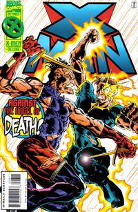 Cover for X-Man (Marvel, 1995 series) #8 [Direct Edition]