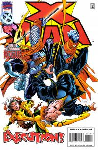 Cover for X-Man (Marvel, 1995 series) #11 [Direct Edition]