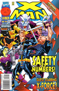 Cover Thumbnail for X-Man (Marvel, 1995 series) #18 [Direct Edition]