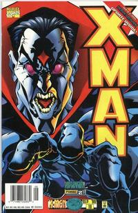 Cover for X-Man (Marvel, 1995 series) #19 [Direct Edition]