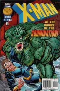 Cover Thumbnail for X-Man (Marvel, 1995 series) #20 [Direct Edition]